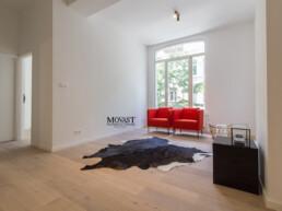 3 ruime, volledig nieuw gerenoveerde appartementen met 2 slaapkamers op toplocatie