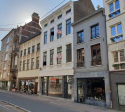 Commercieel gelijkvloers aan de Handelsbeurs in Antwerpen