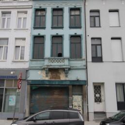 Renovatieproject nr. 40 in de Simonsstraat, 2018 Antwerpen.