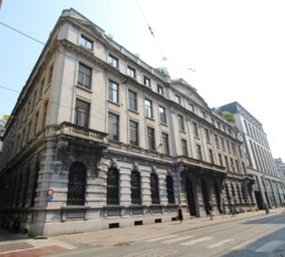Uniek gelijkvloers in prestigieus gebouw aan de Handelsbeurs